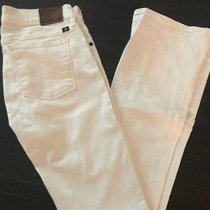 Zoe Boot Lucky Brand White Jeans